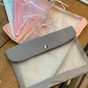 Bescherm tasjes voor de mondkapjes
